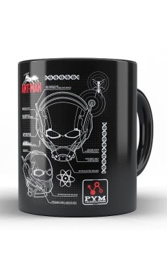 Caneca Marvel Comics Anti Man Schematic
