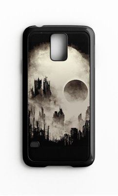 Capa para Celular Grand Cidade Skull Galaxy S4/S5 Iphone S4