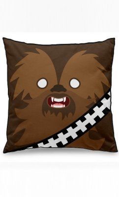 Almofada Star Wars Side Faces - Chill Bacca