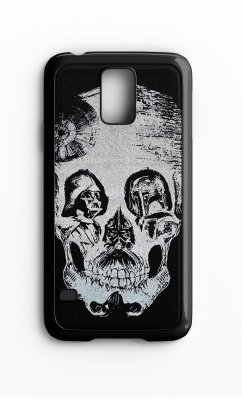Capa para Celular Darth Vader Skull Galaxy S4/S5 Iphone S4