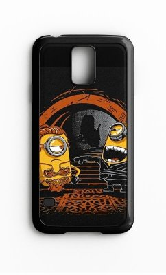 Capa para Celular Minions Banana Galaxy S4/S5 Iphone S4