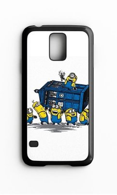 Capa para Celular Banana Minions Galaxy S4/S5 Iphone S4