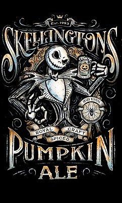 Camiseta Jack Skelation Pumpkin