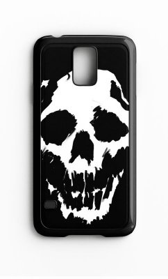 Capa para Celular Skull Face Galaxy S4/S5 Iphone S4