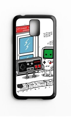 Capa para Celular Retro Gamer Galaxy S4/S5 Iphone S4