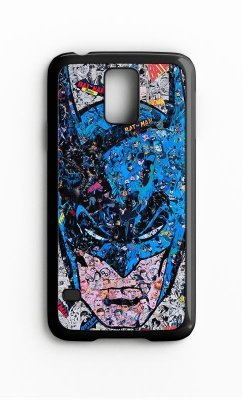 Capa para Celular Batman em Quadrinhos Galaxy S4/S5 Iphone S4