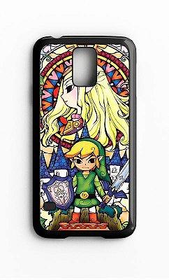 Capa para Celular Zelda Link Galaxy S4/S5 Iphone S4