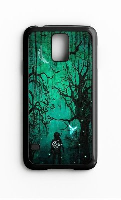 Capa para Celular The Legend Of Zelda Florest Galaxy S4/S5 Iphone S4
