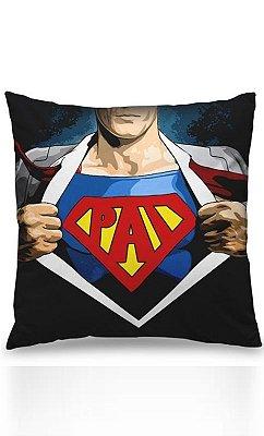 Almofada Herói Super Pai Presentes Criativos