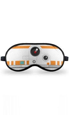 Máscara de Dormir Star Wars Geek Side Faces BB8 Presentes Criativos