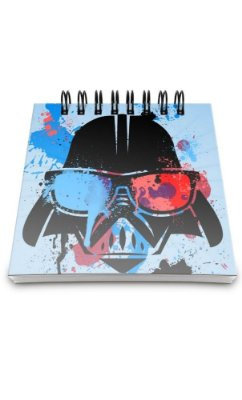 Bloco de Anotações Star Wars Vader Presentes Criativos