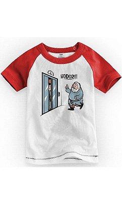 Camiseta Infantil Game of Thrones Hodor