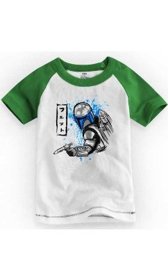 Camiseta Infantil South Star Wars Bountyhunter