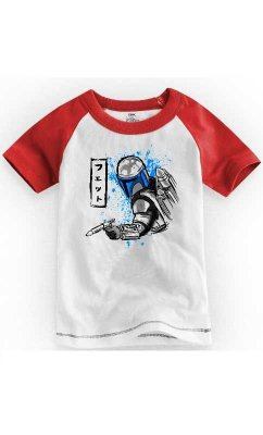 Camiseta Infantil South Star Wars Bountyhunter 1