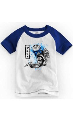Camiseta Infantil South Star Wars Bountyhunter 2
