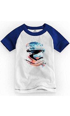 Camiseta Infantil Star Wars Stormtrooper Helmet
