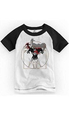 Camiseta Infantil Vitruvian Venon Spiderman