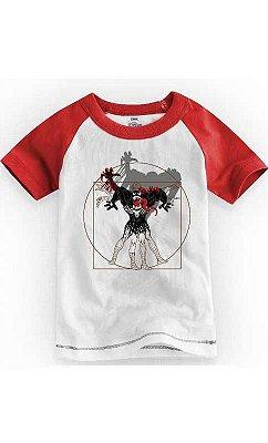 Camiseta Infantil Vitruvian Venon Spiderman 2