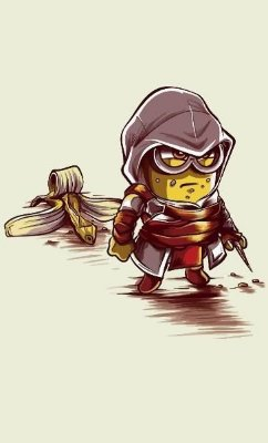 Camiseta MInion Assassin