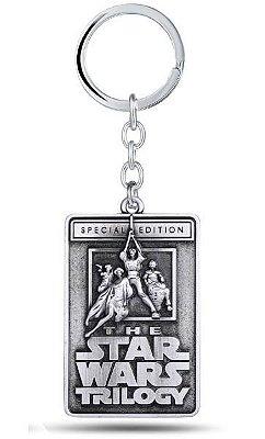 Chaveiro Star Wars Trilogy Special Edition Prata Presentes Criativos