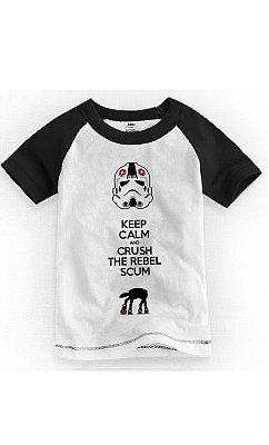Camiseta Infantil Keep Calm
