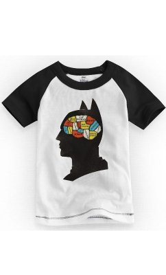 Camiseta Infantil Batman Phrenology