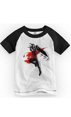 Camiseta Infantil Cloud Strife  Final Fantasy