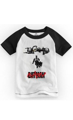 Camiseta Infantil Batman Akira