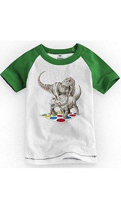 Camiseta Infantil Dinosaur Twister