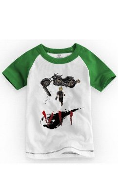 Camiseta Infantil final Fantasy 7 Akira