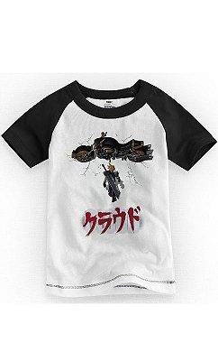 Camiseta Infantil Final Fantasy 7 Cloud