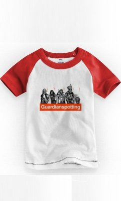 Camiseta Infantil Guardians Of The Galaxy