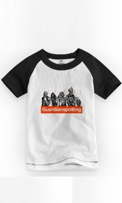 Camiseta Infantil Guardians Of The Galaxy 1