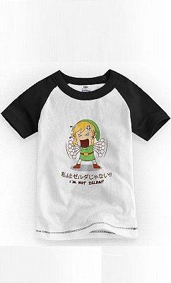 Camiseta Infantil I'm Not Zelda