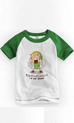 Camiseta Infantil I'm Not Zelda 1
