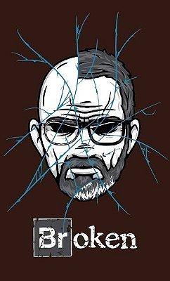 Camiseta Heisenberg Broken