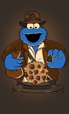 Camiseta  Cookie Monster