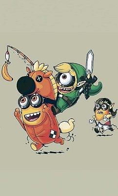 Camiseta Legend of Zelda Minions
