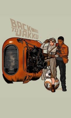 Camiseta Star Wars Back to Jakku