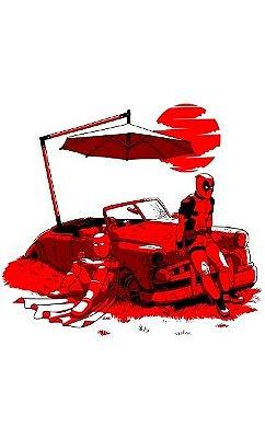 Camiseta Dead Pool Car