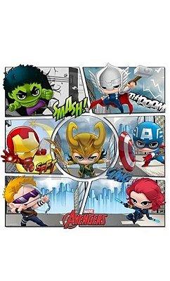 Camiseta Marvel Super Herois