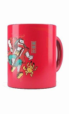 Caneca Ash and Pikachu