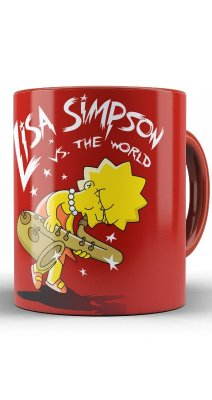 Caneca Lisa Simpsons