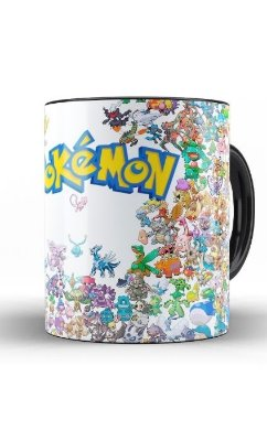 Caneca Pokemon Collection
