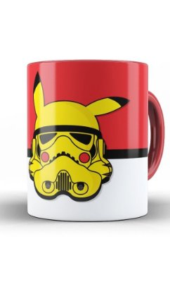 Caneca Star Wars Stormtrooper Pokemon