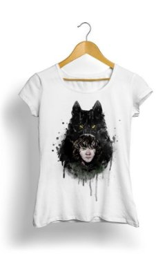 Camiseta Game of Thrones Wolf Stark