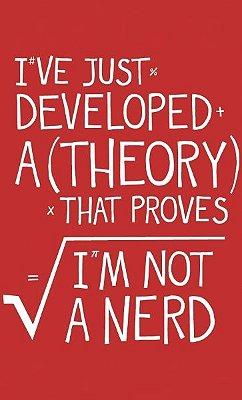 Camiseta Nerd Theory