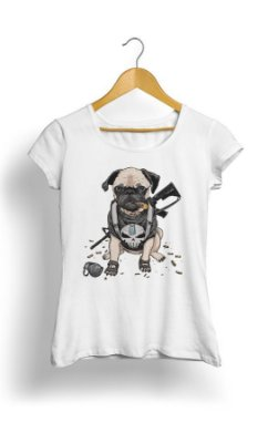 Camiseta  Bulldog Military