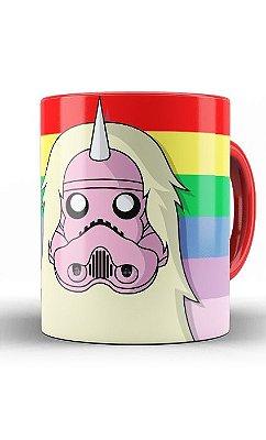 Caneca Adventure Time Rainicorn Stormtrooper