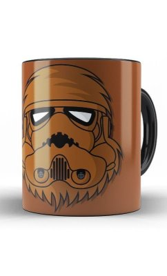 Caneca Star Wars  Chewbacca  Stormtrooper